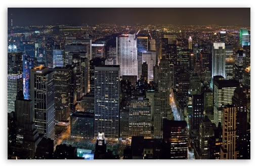Download New York Midtown Skyline UltraHD Wallpaper