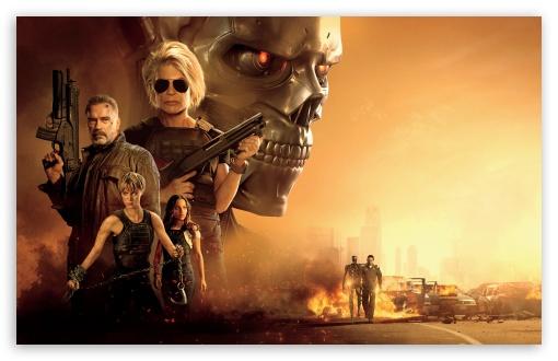 Download Terminator Dark Fate 2019 Movie UltraHD Wallpaper