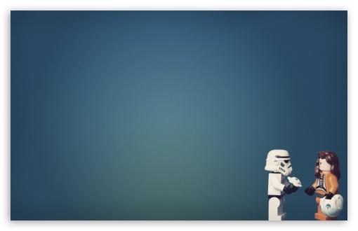 Download Stormtrooper In Love UltraHD Wallpaper