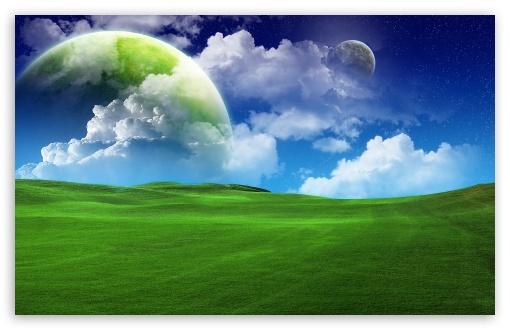 Download Planetscape UltraHD Wallpaper