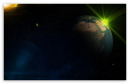 Download Space Effect Two UltraHD Wallpaper
