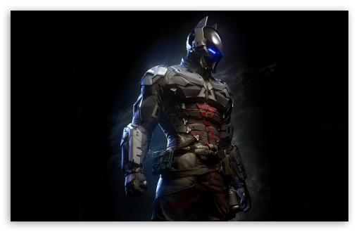 Download Batman Arkham Knight Batsuit UltraHD Wallpaper