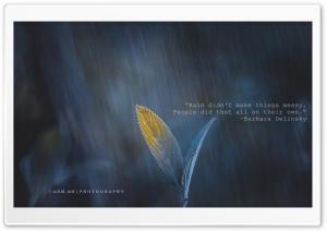 Rain and Something