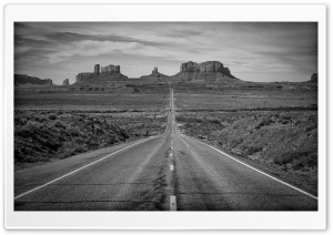 Monument Valley, Highway 163,...