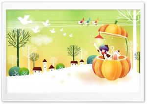 Childhood Fairytales Pumpkin