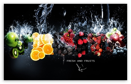 Download Fresh Fruits UltraHD Wallpaper