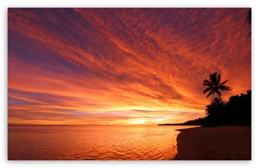 Download Exotic Sunset UltraHD Wallpaper