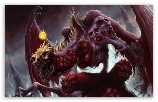 Download Evil Creature UltraHD Wallpaper
