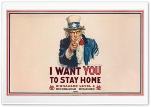 Stay at Home Biohazard Warning