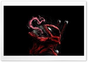 Deadpool Venom Illustration...