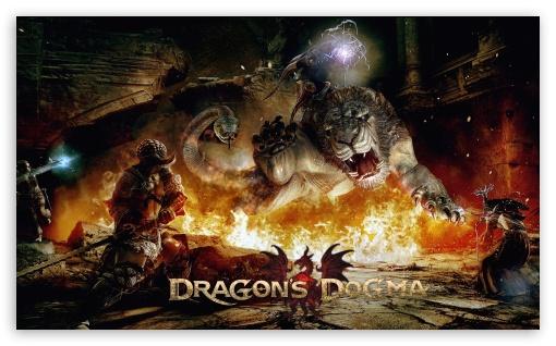 Download Dragon's Dogma Game UltraHD Wallpaper