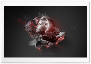 3D Abstract Wallpaper by CS9...