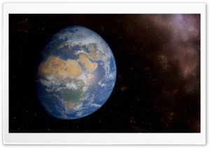 Fantastic Space View of Earth...