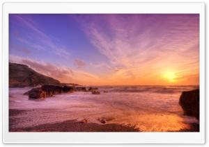 Evening Seascape, Sunset