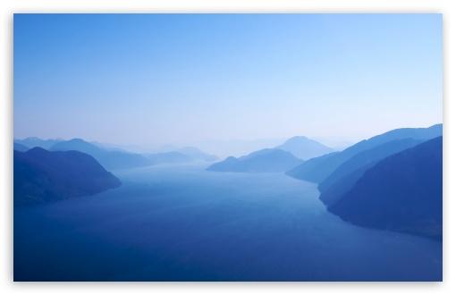 Download Blue Fjord UltraHD Wallpaper