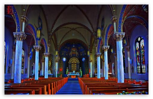 Download St Joseph Church UltraHD Wallpaper