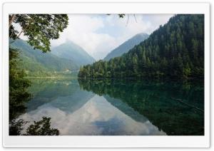 Mirror Lake at Jiuzhaigou