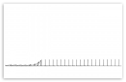 Download Dominoes UltraHD Wallpaper