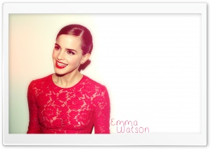Emma Watson Red Dress (2012)