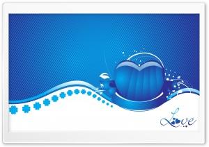 Blue Heart Love