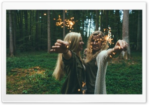 Sparklers Girls