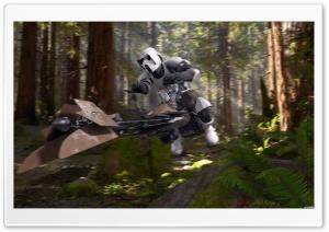 Scout Trooper Speederbike Endor