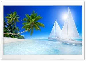 Summer Tropical Beach Paradise