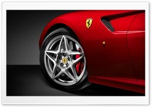 Red Ferrari 599 Wheel