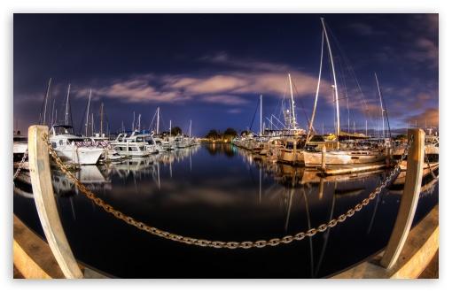Download Calm Harbor UltraHD Wallpaper