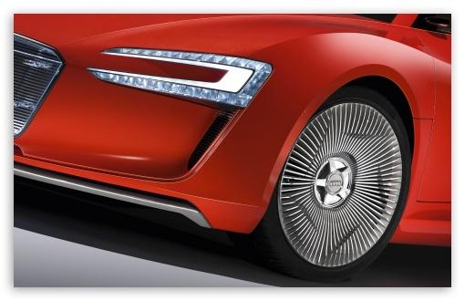 Download Audi E Tron Wheel UltraHD Wallpaper