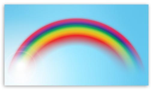 Download Rainbow, Sky UltraHD Wallpaper