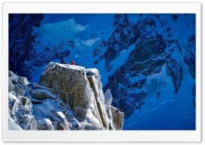 Mountains, Snow, Rock,...
