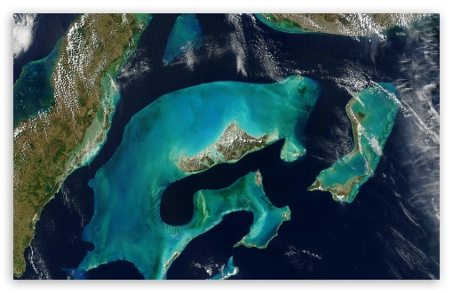 Download Impressive Islands Satelite View UltraHD Wallpaper