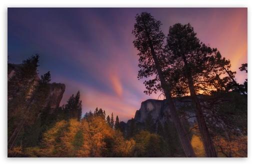 Download Half Dome Sunrise UltraHD Wallpaper