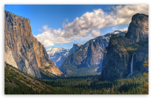 Download Yosemite Valley UltraHD Wallpaper