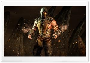 Mortal Komabt X Scorpion