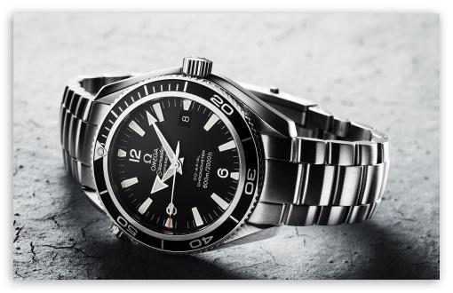 Download Omega Wristwatch UltraHD Wallpaper
