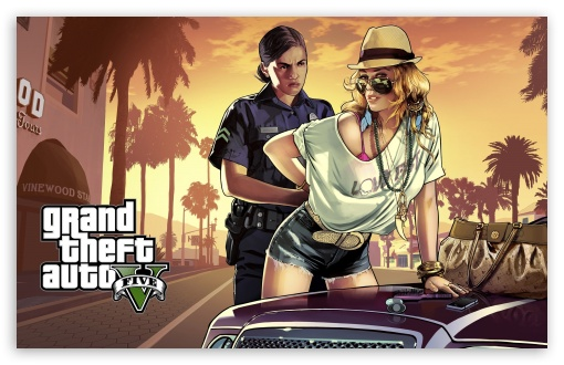 Download Grand Theft Auto GTA V 2013 UltraHD Wallpaper