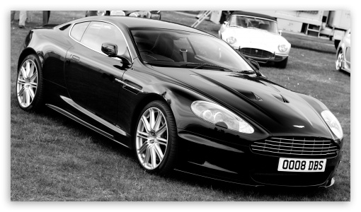 Download Aston Martin DBS Black UltraHD Wallpaper