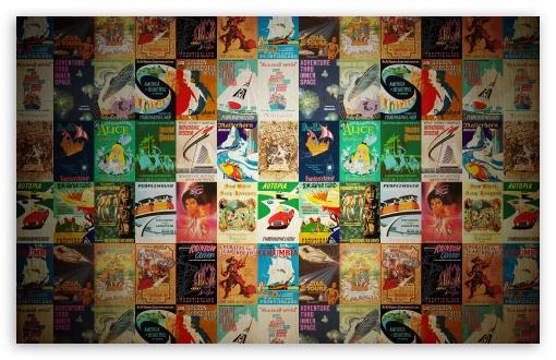 Download Vintage Posters UltraHD Wallpaper