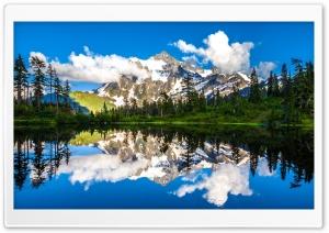 Mount Shuksan Picture Lake