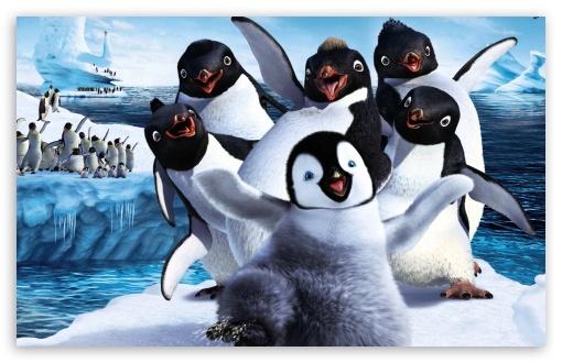Download 2011 Happy Feet 2 UltraHD Wallpaper
