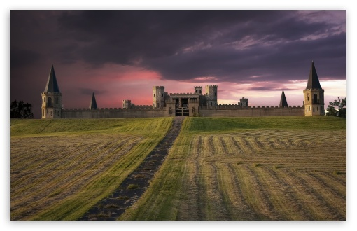 Download Medieval Castle UltraHD Wallpaper