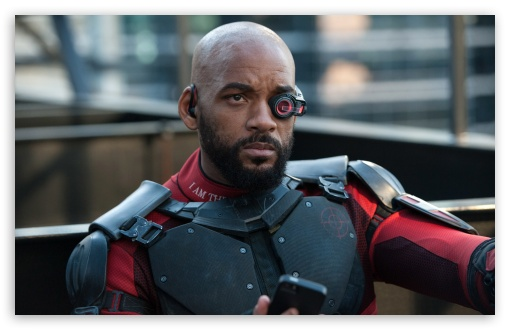 Download Suicide Squad, Will Smith as Deadshot UltraHD Wallpaper