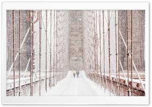 Brooklyn Bridge Snow Storm...