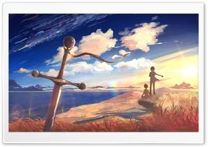 Sword Anime Scene