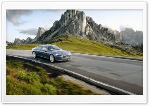 Aston Martin On The Road