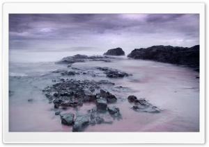 Misty Sea Landscape