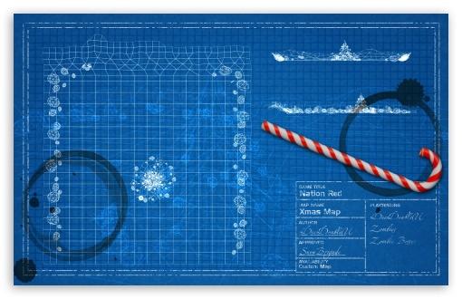 Download Nation Red Clean Xmas UltraHD Wallpaper