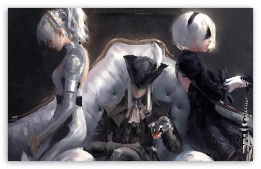 Download Lunafreya, Final Fantasy XV, Lady Maria,... UltraHD Wallpaper